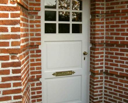 Schilderen voordeur